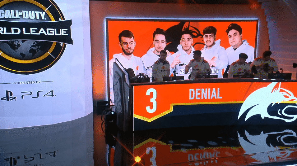 Denial Esports Get First Win at CWL Pro League Win vs Splyce