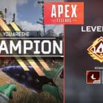 Dizzy Apex Legends level 100