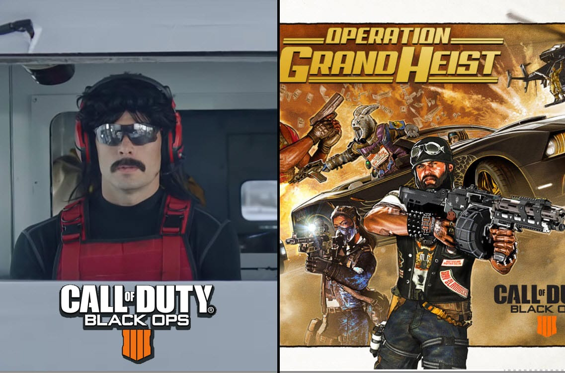 Dr Disrespect Makes Cameo in Black Ops 4 - The Replacer Did It