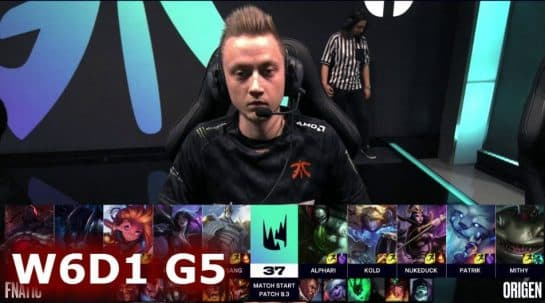 FNC vs OG Review League of Legends LoL LEC
