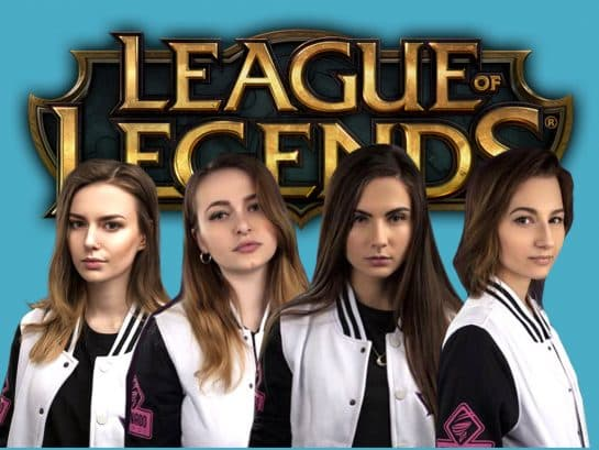 Female LoL team Vaevictis