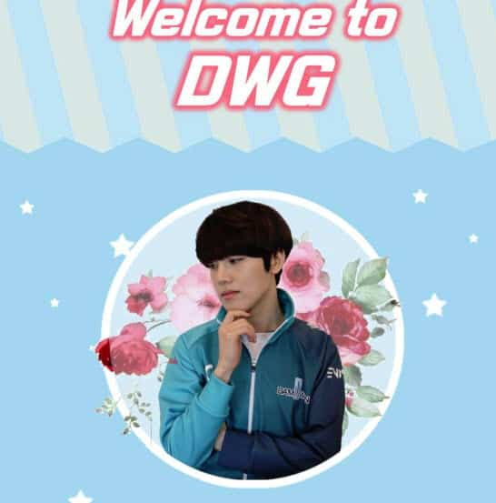 Flame signs with DAMWON GAMING