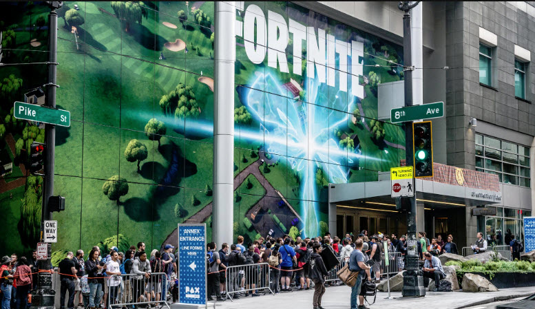 Fortnite Pax West