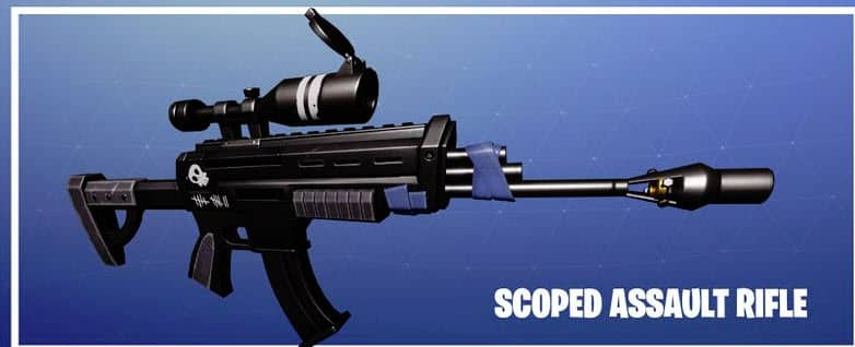 Fortnite Season 1 Scoped AR