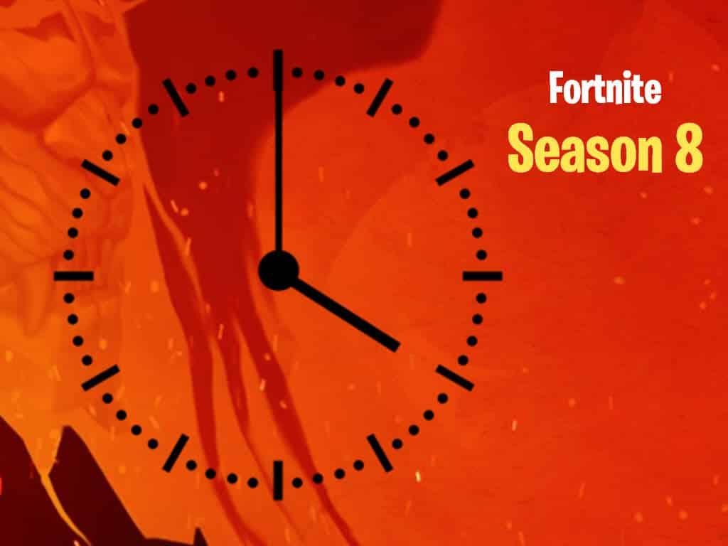 Fortnite Season 8 Time