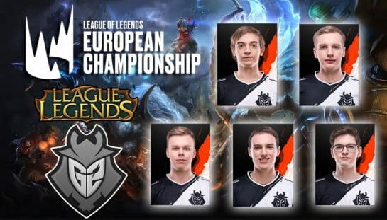 G2 Esports LoL Team 2019 LEC Spring Split Matches Recap