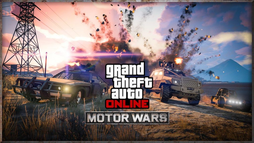 Grand Theft Auto Online Motor Wars Battle Royale Multiplayer Survival Game