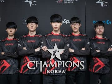 Griffin Clan Team Korea LCK LoL League of Legends Esports