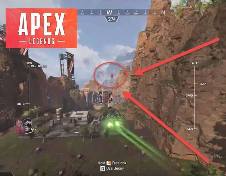 How To Fly Further In Apex Legends With Ballons