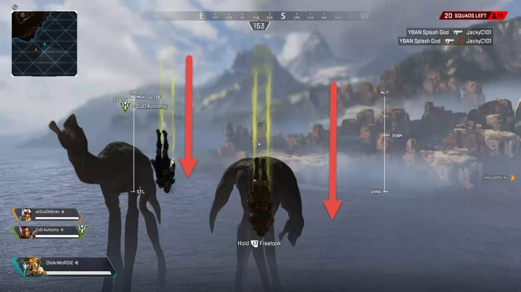How to Reach Creatures in Apex Legends Map Kings Canyon Alien Monster