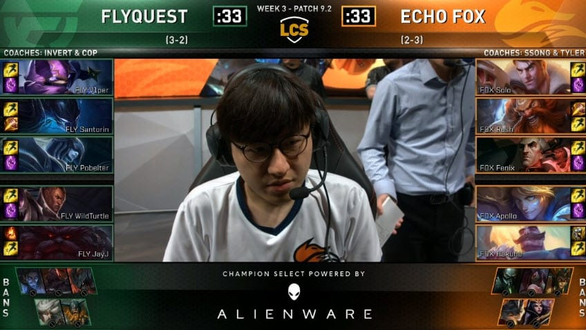 League of Legends Championships Esports FlyQuest VS Echo Fox LoL