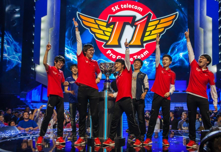 League of Legends World Finals SK Telecom Pro Game Team Esports 2013