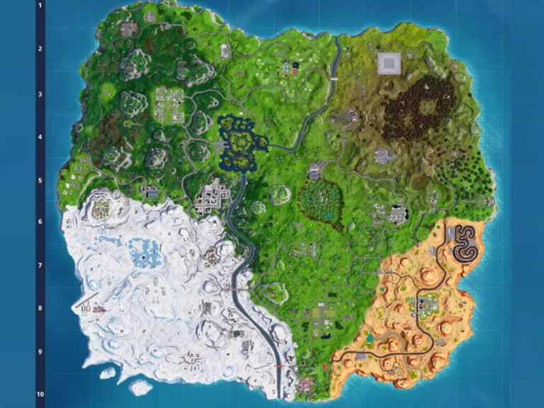 New Fortnite Map burning changes Season 7 burning