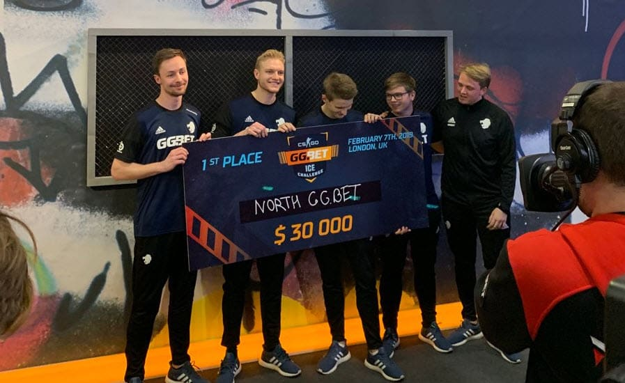 S1mple the CS:GO King North GG.Bet Tournament Win Champion Event Esports