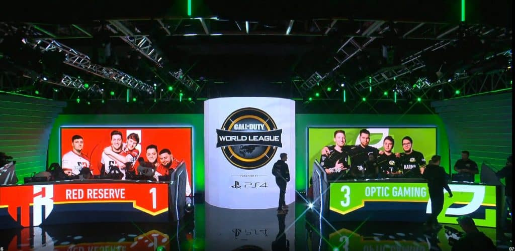 OpTic Gaming Comeback vs Red Reserve CWL Pro League 2019
