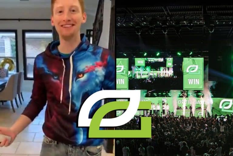 OpTic Scump Tweets Rare Photo of Himself. Everyone Loves It Call of Duty CWL.