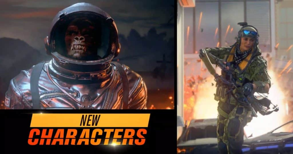 Operation Grand Heist Season 3 New Characters Call of Duty Black Ops 4 Update