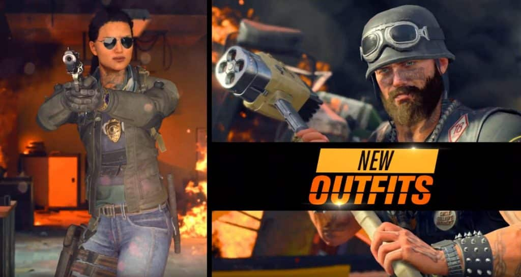 Operation Grand Heist Season 3 New Outfits Characters Call of Duty Black Ops 4 Update