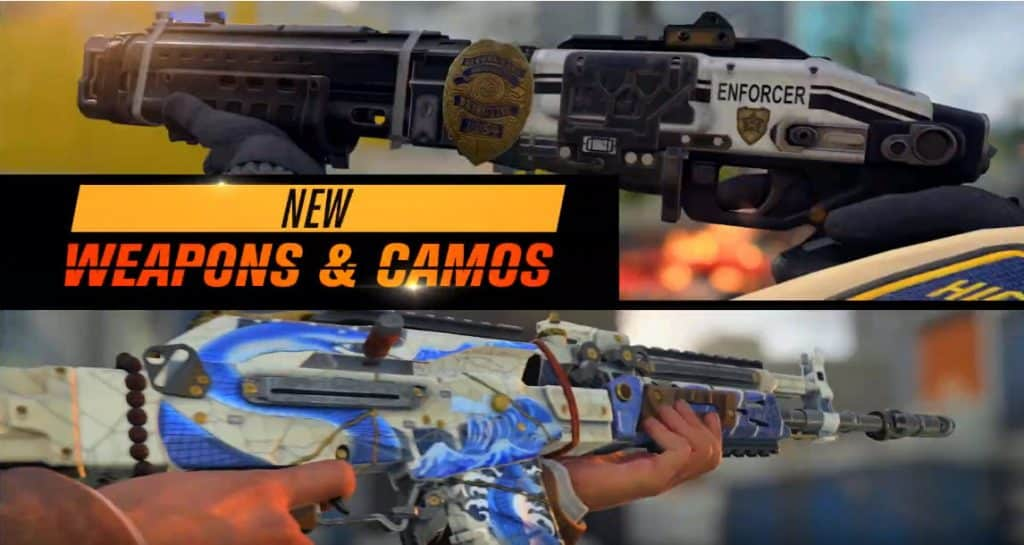 Operation Grand Heist Season 3 Weapons Camos Call of Duty Black Ops 4
