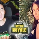 RiceGum Receives the Best Compliment from Stacey Gurns Fortnite Battle Royale Model