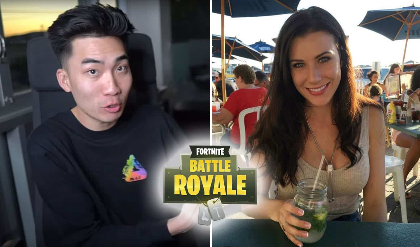 RiceGum Taylor Bee @TaylorBeexox Instagram Model Playing Fortnite Battle Royale on Twitch