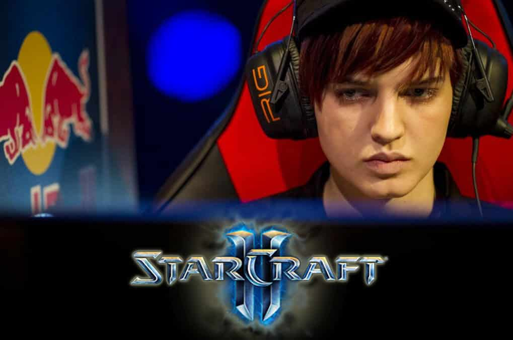 Sasha Hostyn Scarlett Zerg Player Starcraft II Esports Player Gamer