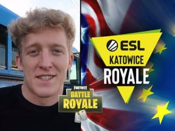 Tfue ESL Fortnite Poland