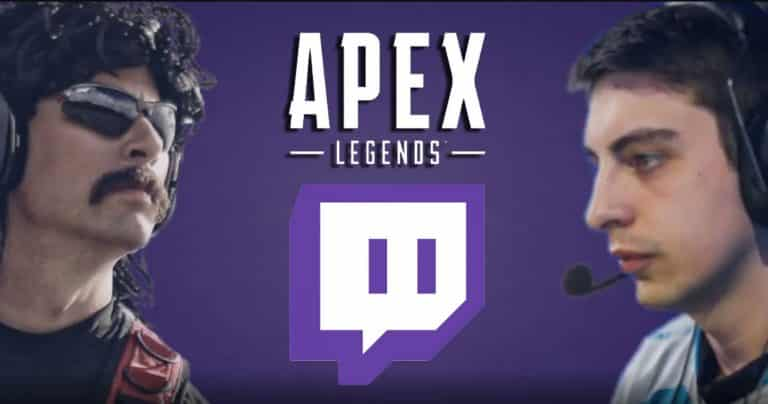 Twitch Rivals Apex Legends Challenge Dr Disrespect VS Shroud