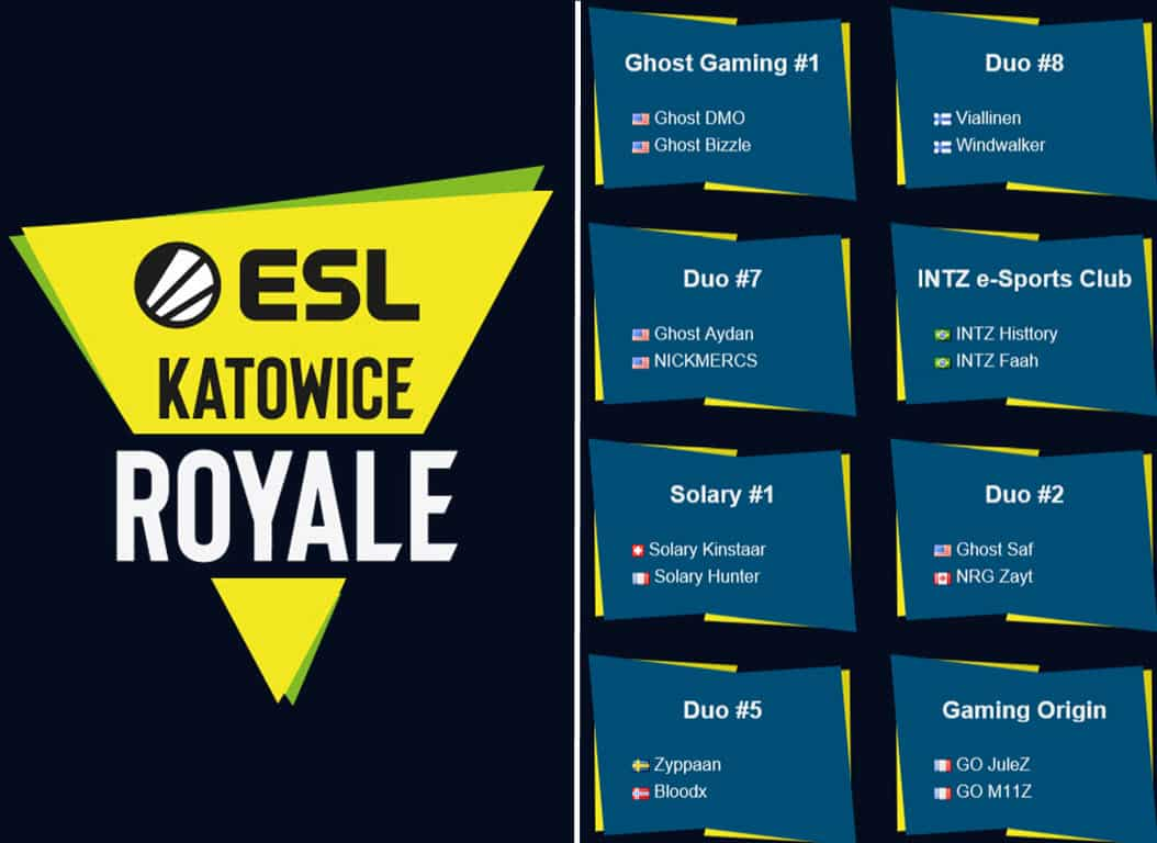 What Teams Are Confirmed For ESL Katowice Royale
