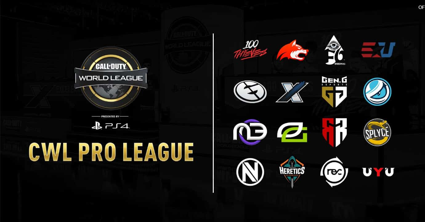 Where to Watch CWL Pro League Matchs Call of Duty Pro League 2019 Esports