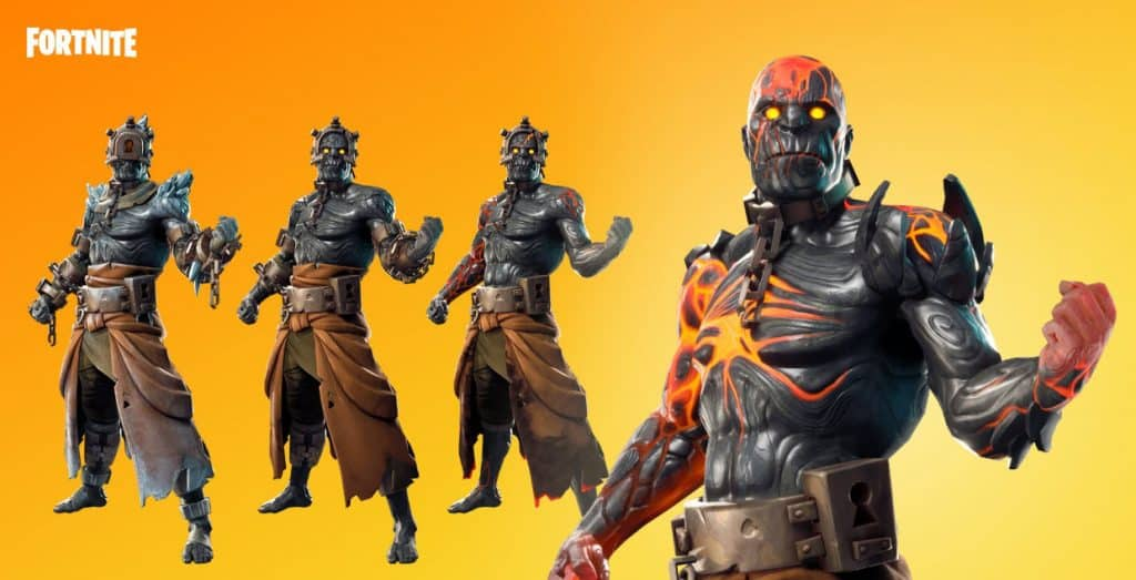 all fortnite prisoner variants