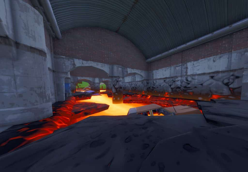 lava ends under tomato temple