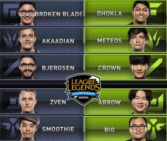 tsm vs opt LCS Spring Split Matches Recap