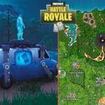 All Fortnite Respawn Van Map locations