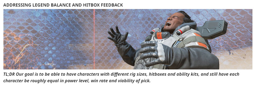 Apex Legends Balance And Hitbox