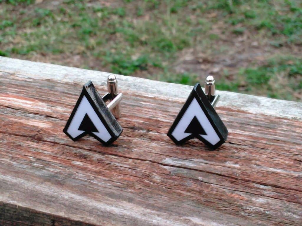 Apex Legends Cufflinks Logo Inspired