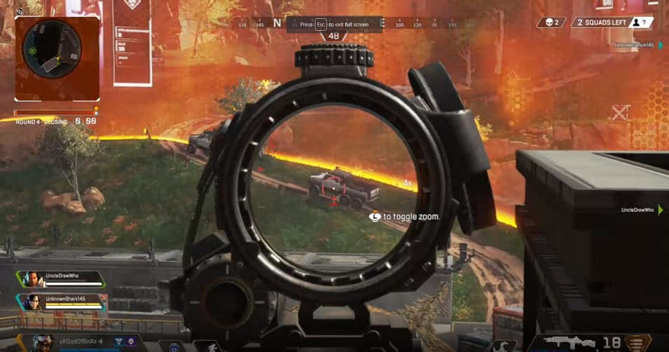 Apex Legends Focus Awareness Accuracy