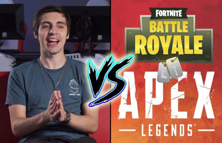 Apex Legends Fortnite Battle. Which One Does Shroud Prefer