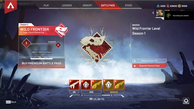 Apex Legends Level 110 Badge
