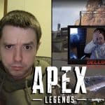 Apex Legends Player Dellor Has Nerous Breakdown on Twitch.
