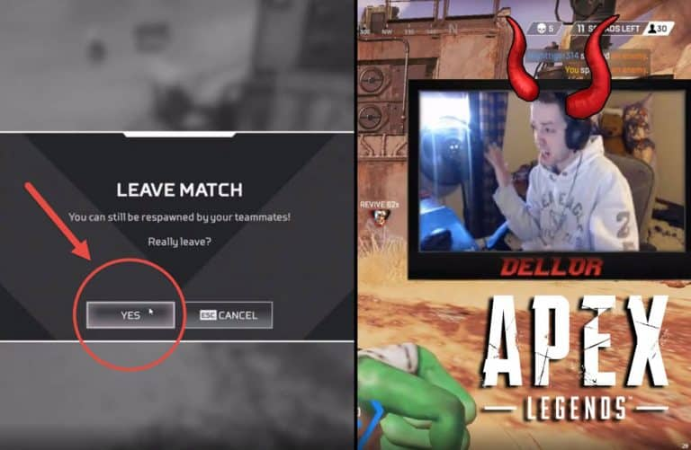 Apex Legends Player Screams at Teammate. Why you gotta be so angry