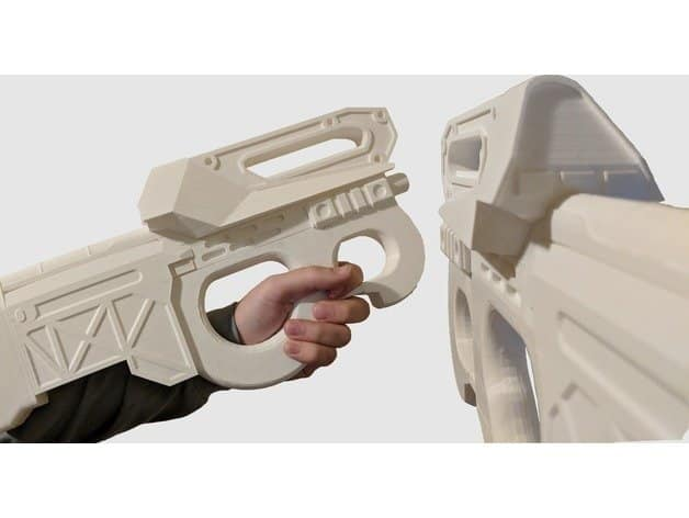 Apex Legends Prowler Replica 3D print SMG Weapon