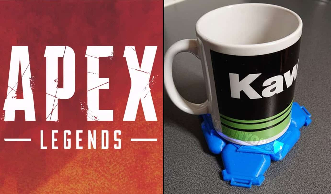 Apex Legends Replica Design 3D Printer Artist