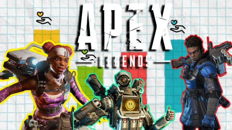 Apex Legends Stats Statistics Infographic Graph Chart Data Most Used Top Gun