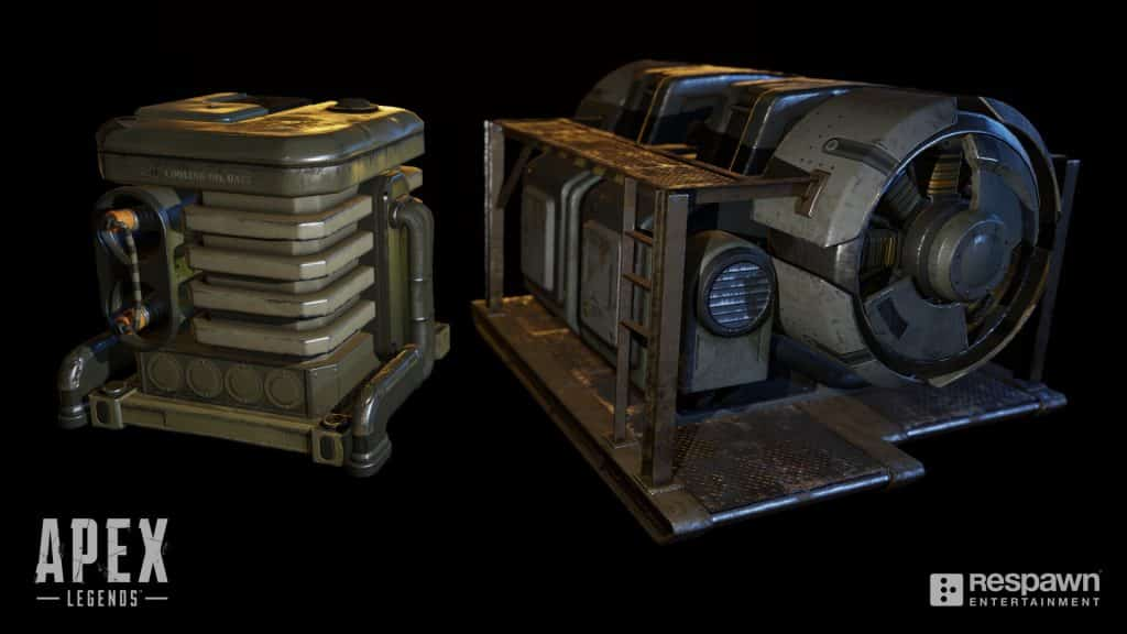Apex Legends Utilities HVAC Unit in Game Chris Burks