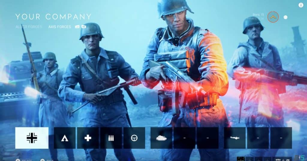 Battlefield V Company Character Firestorm Battle Royale