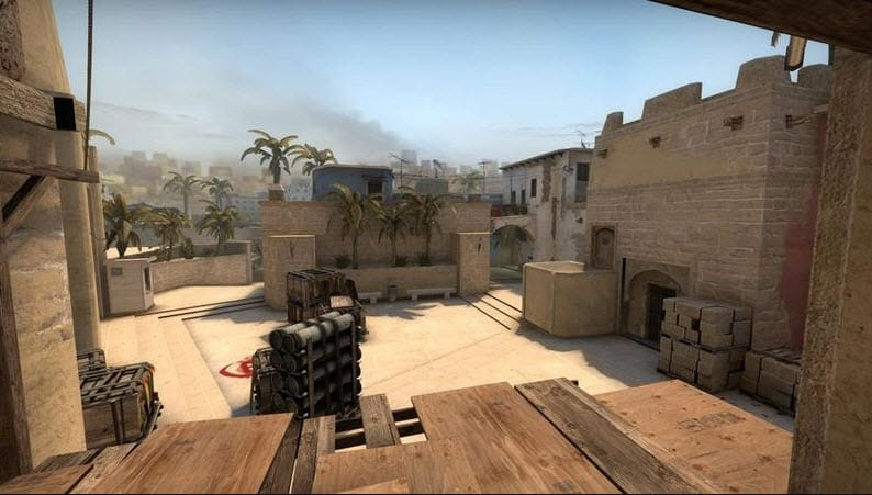 CSGO Empty Map Practice Air Firing Esports