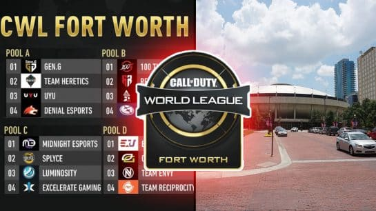CWL Fort Worth 2019 UPDATE Teams Schedule, Pools, Location, Results Texas