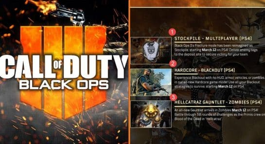 Call of Duty Black Ops 4 March 12 Update