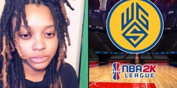 Chiquitae126 Chiquita Evans First Woman Drafted into NBA 2K League